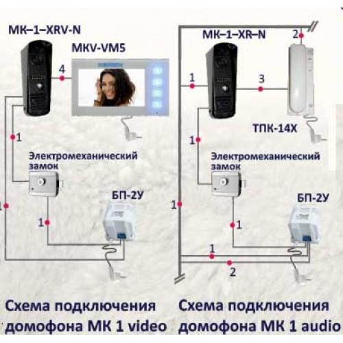 Вызывная панель МК1